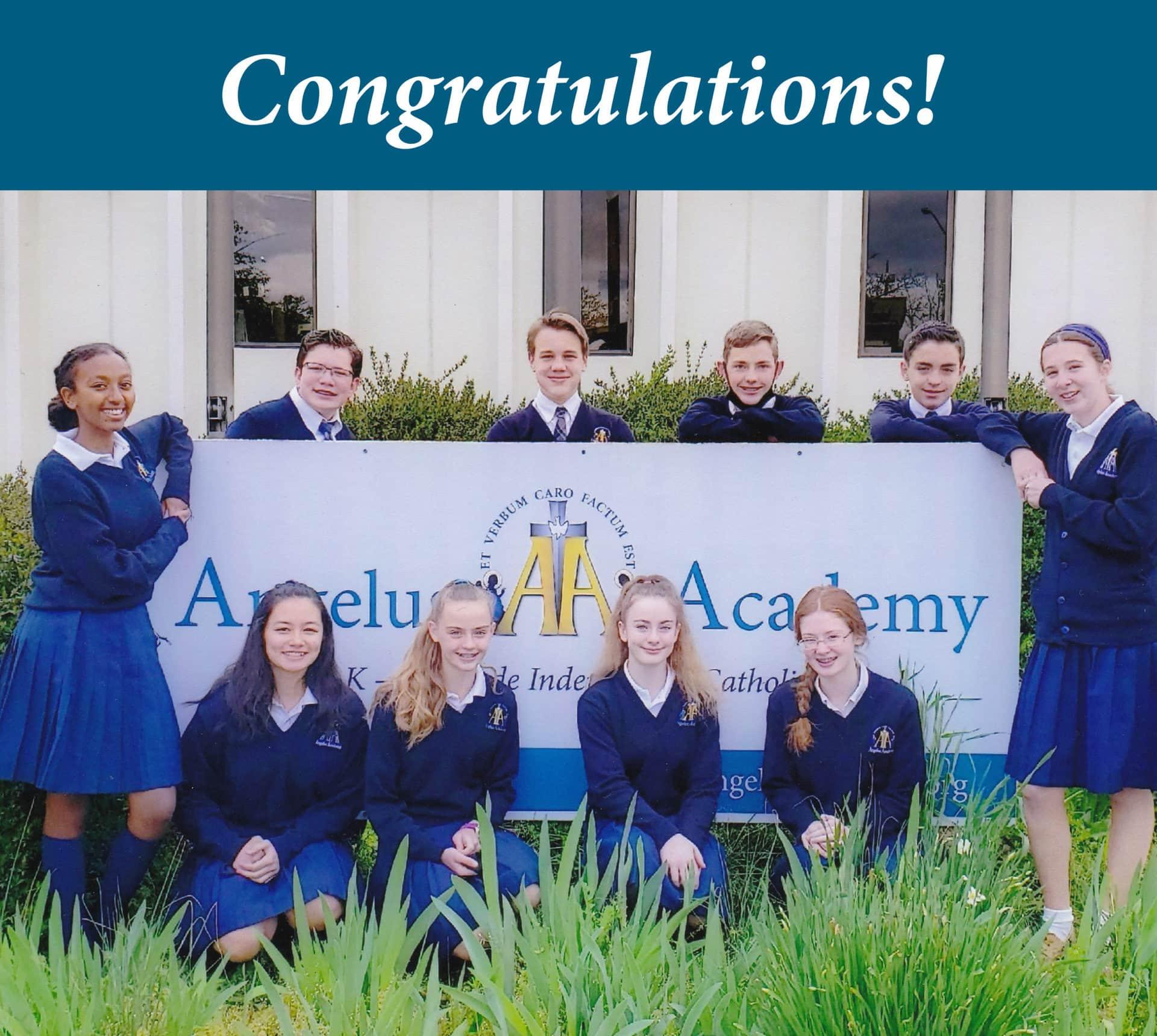 Angelus Academy Summer Program